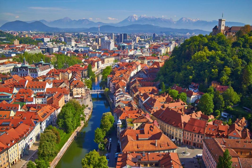 Thủ đô Ljubljana của Slovenia, xứ sở tình yêu - Ảnh: slovenia-convention.com