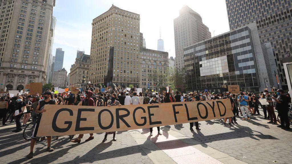 Làn sóng căm phẫn lan tràn khắp nước Mỹ vì cái chết của George Floyd - Ảnh: 24.hu