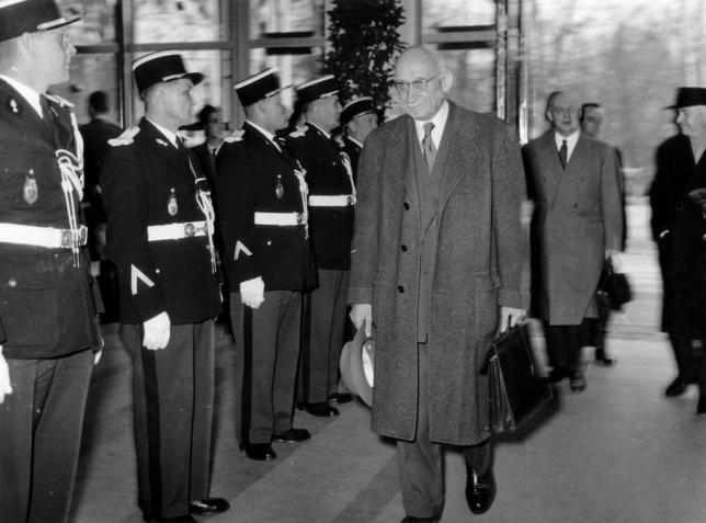Con người cả đời phấn đấu cho sự hòa giải Pháp - Đức và sự nghiệp chung của Châu Âu - Ảnh tư liệu