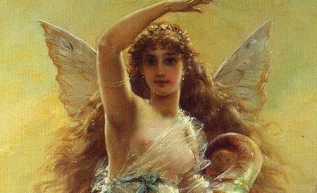 Nữ thần may mắn Tyche - Minh họa: Internet