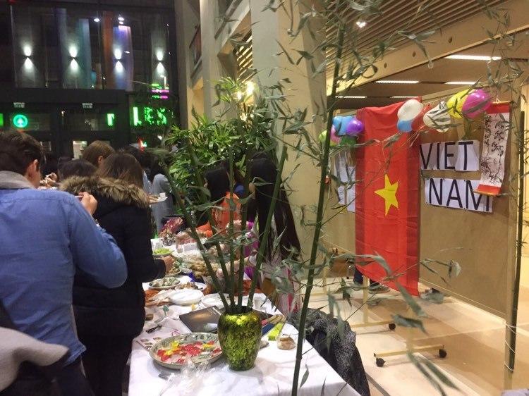 Lễ hội Ẩm thực Quốc tế 2019 tại SOTE - Ảnh do nhân vật cung cấp