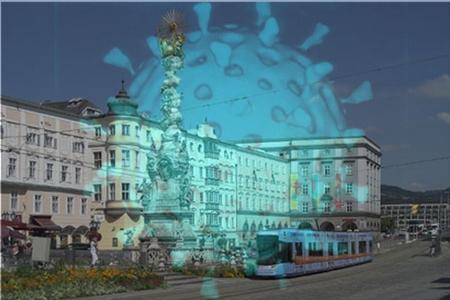 Linz, thủ phủ của bang Thượng Áo ghi nhận sự gia tăng đột ngột của các ca lây nhiễm mới - Ảnh: vindobona.org