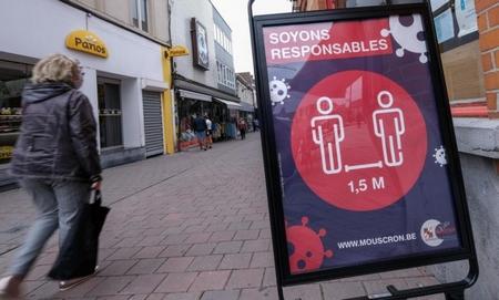 TP. Antwerpen vẫn chìm trong dịch bệnh - Ảnh: geeky.news