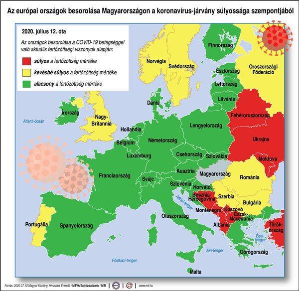 """Châu Âu với """"bảng màu"""" của chính quyền Hungary"""