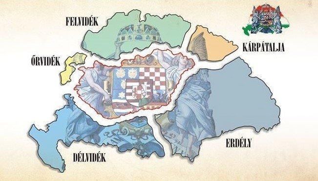 Tấn thảm kịch mất lãnh thổ hiếm có trong lịch ở thế giới! - Ảnh: szentendre.media.hu