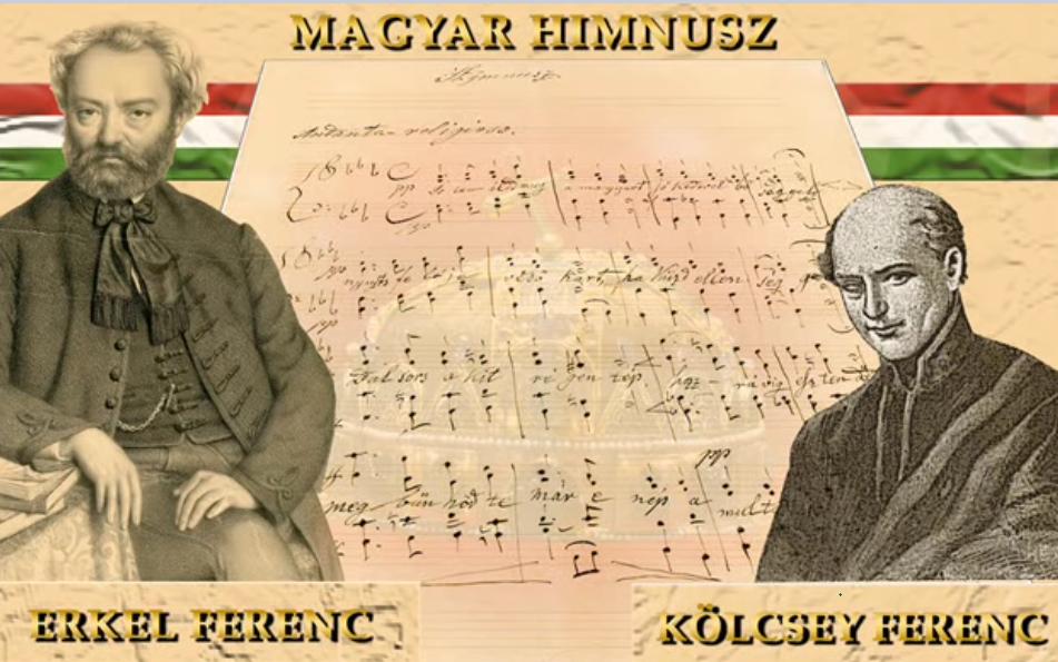 """Hai tác giả của bản """"Quốc ca"""" Hungary - Ảnh: vasarnap.hu"""