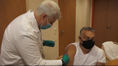 Một bác sĩ cho rằng Thủ tướng Orbán Viktor đã bị tiêm chủng cúm mùa sai cách - Ảnh chụp màn hình