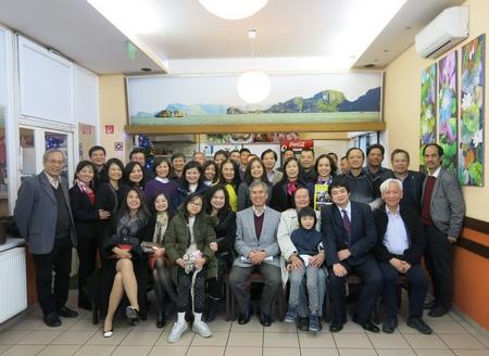 Các CTV, thân hữu của NCTG trong buổi gặp mặt ngày 12-12-2017 - Ảnh tư liệu