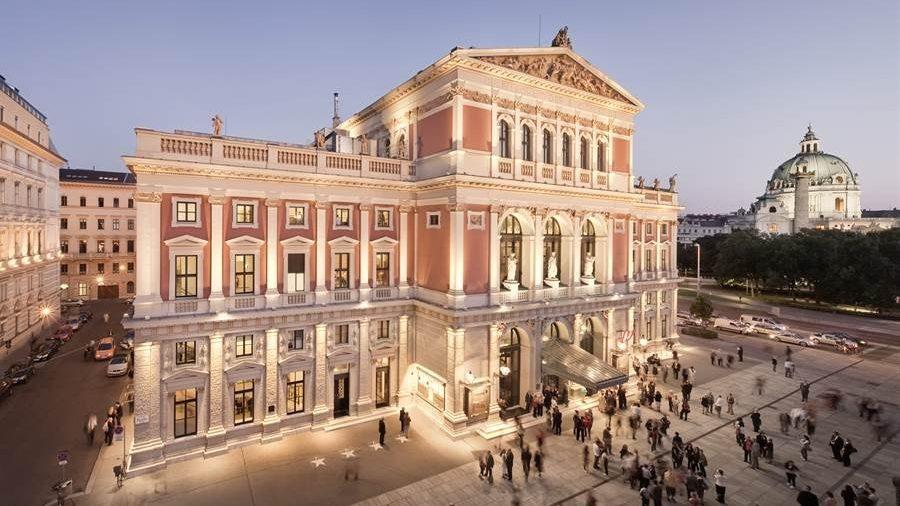 Cung hòa nhạc Musikverein của Hội Khuyến nhạc Thành Vienne, một thánh địa của nhạc cổ điển thế giới
