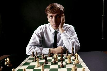 Bobby Fischer năm 1971-ben - Ảnh: David Attie