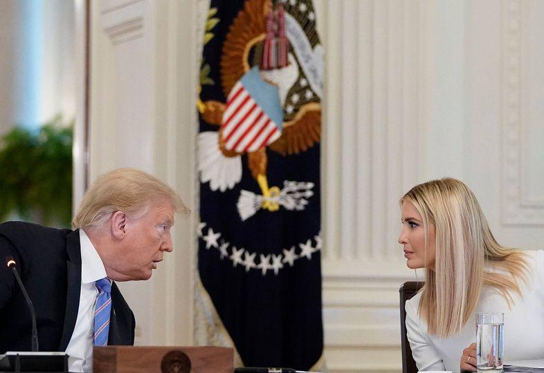 Donald Trump và ái nữ Ivanka Trump, người được đồn đoán như một ứng viên tiềm năng của ngôi vị Tổng thống Mỹ trong tương lai