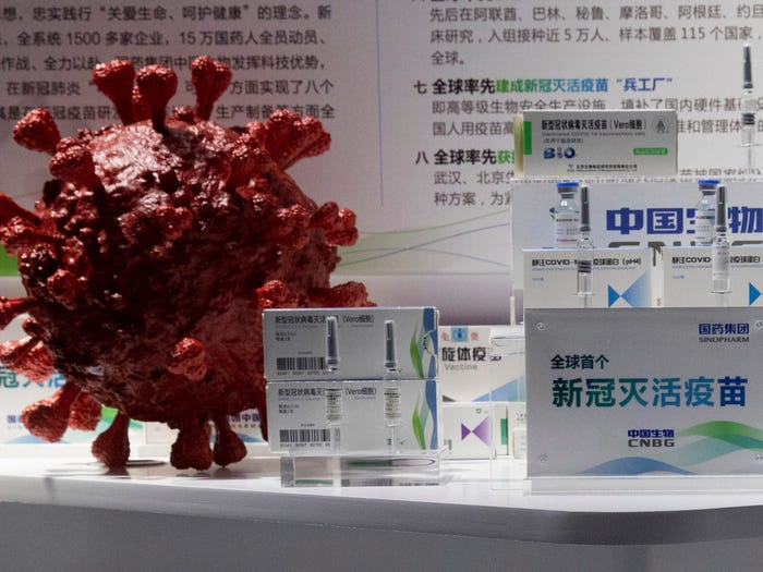 Vaccine của Trung Quốc không được Châu Âu tin tưởng - Ảnh: businessinsider.com