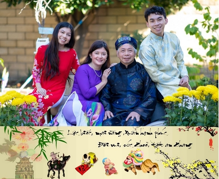 """""""Một cái gì đó cho thế hệ sau nối kết với văn hóa tổ tiên qua cơ hội quây quần gia đình trong không khí Tết Việt"""""""