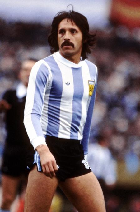 Leopoldo Luque trong sắc áo tuyển Argentina tại Wolrd Cup 1978 - Ảnh tư liệu
