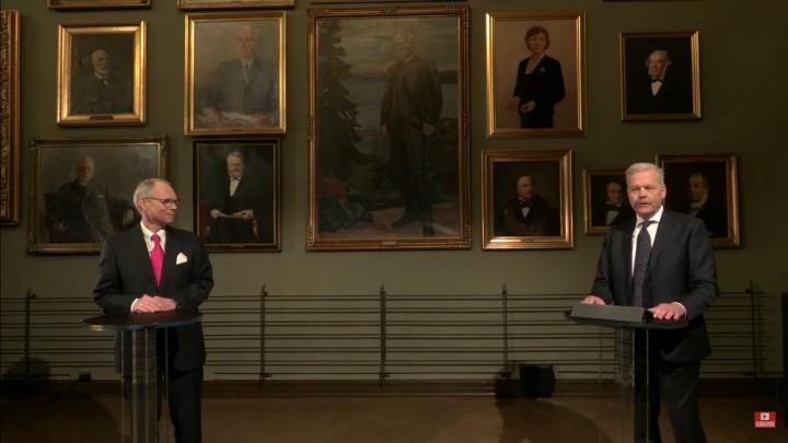 Khoảnh khắc công bố tên hai nhà toán học được trao Giải Abel năm 2011 - Ảnh chụp màn hình