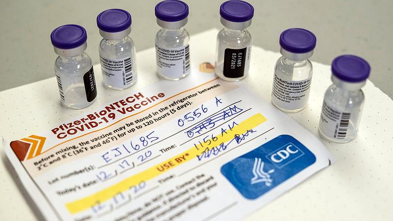 """Vaccine Pfizer hiện vẫn đứng """"đầu bảng"""" tại Hungary - Ảnh: napi.hu"""